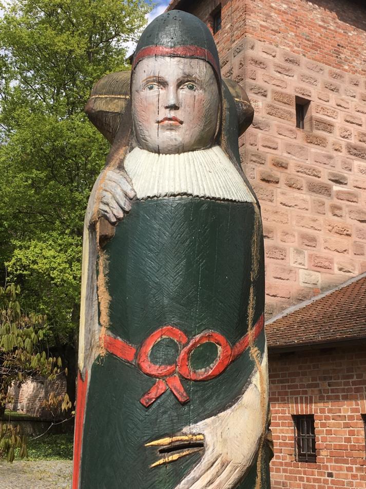 Der Zeidler und seine Bienen, Nürnberger Burgzwinger