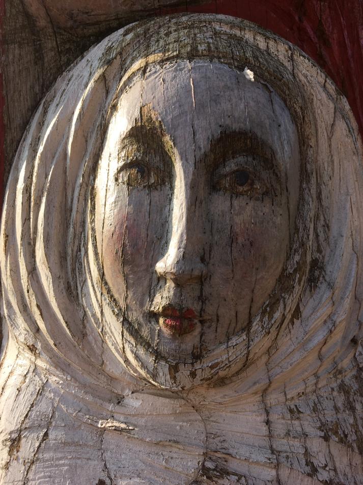 Jungfrau des Hl. Ambrosius als Figurenbeute, Saarbrücken Mai 2016