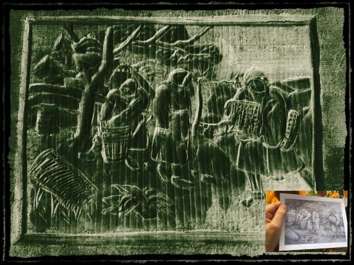Holzschnitt nach Peter Bruegel d.Ä.