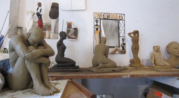 sculptures de nus féminins et masculins.nouveausculpteur.org