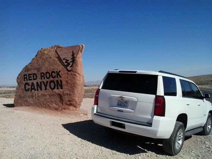 Bild: HDW-USA, Las Vegas, Chevrolet Tahoe, Amerka, Mister T. und der Weiße Büffel, Amerika, Red Rock Canyon