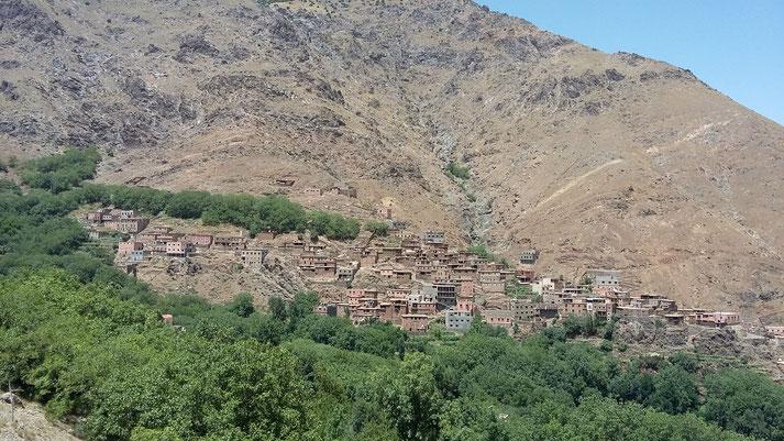 village de montagne près de Imlil