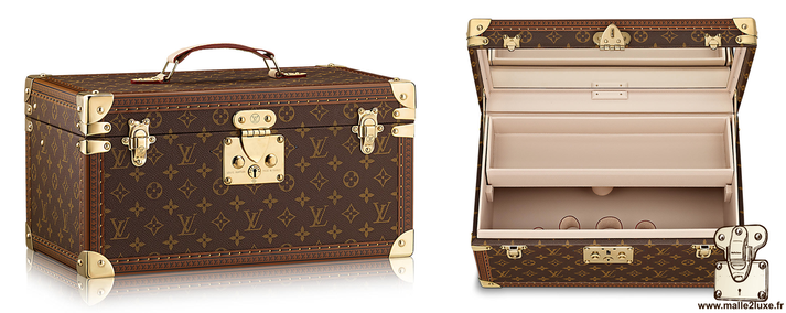 Louis vuitton bottle and case with mirror  M21822