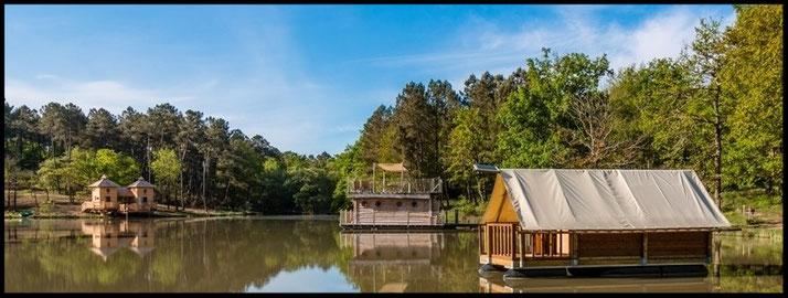 Campsite in dordogne - l'Etang de Bazange