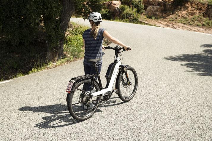 Die Nevo GT City- und Trekking e-Bikes von Riese & Müller für 2020