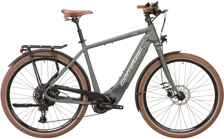 Corratec E-Power C29 CX5 12S Sport Trekking e-Bike 2020 - Trapezrahmen