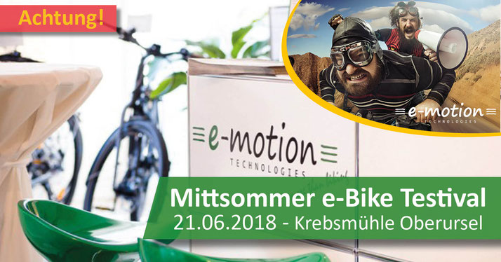 e bike news aus der e motion e bike welt frankfurt e motion e bike experten. Black Bedroom Furniture Sets. Home Design Ideas