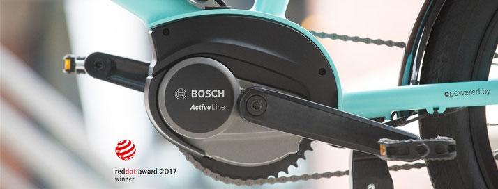 Der Bosch Active Line e-Bike Antrieb bringt viele Vorteile mit sich