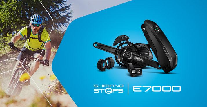Der Shimano Steps E7000 e-Bike Motor ist besonders für Freizeit Mountainbiker geeignet