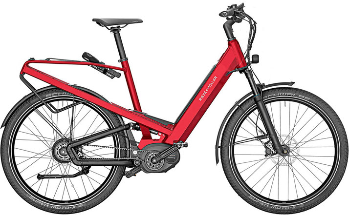 Riese & Müller Homage GT Touring / GT Touring HS 2020 - electric red metallic