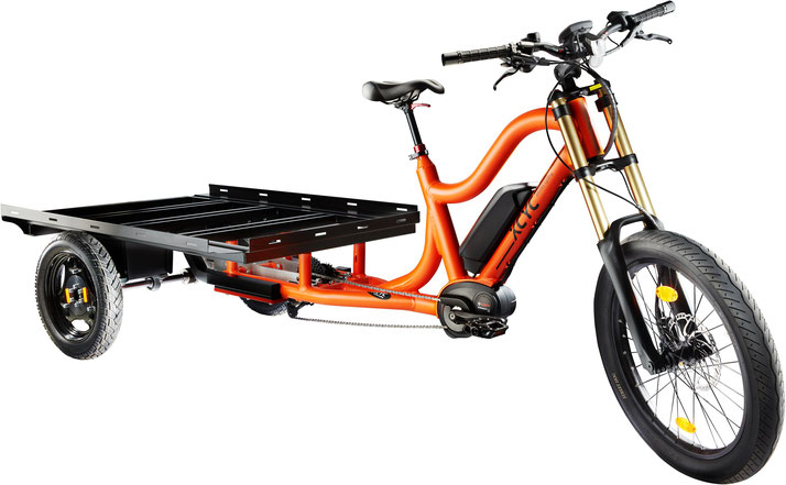 XCYC Lasten/Cargo 25km/h e-Bike Pick-Up Work 2018