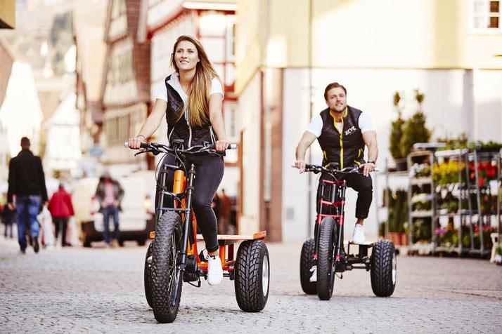 XCYC e-Bike Probe fahren und kaufen in Karlsruhe