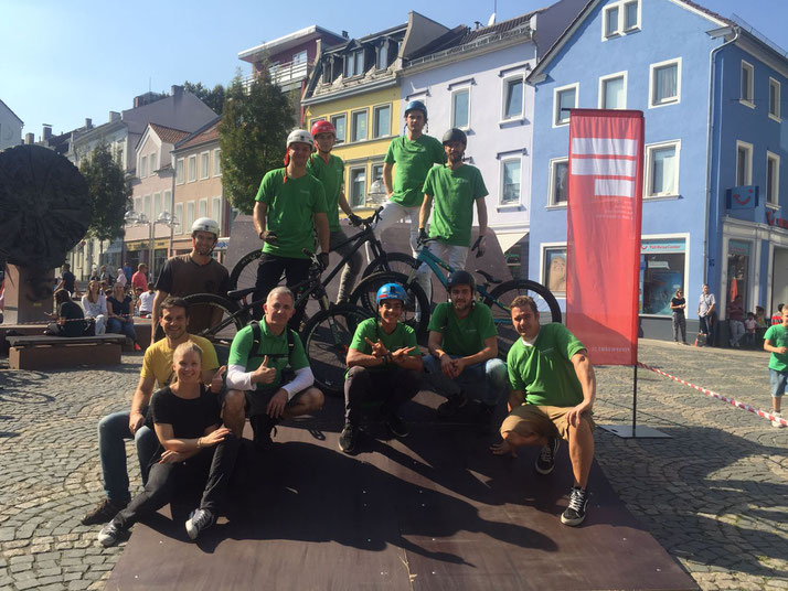 e-motion auf dem Pop Up Fest in Worms
