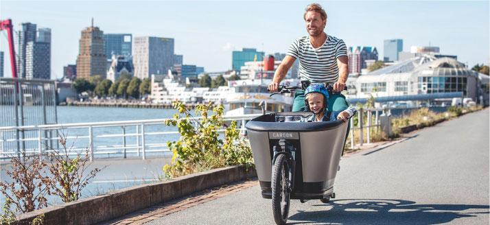 Carqon e-Bikes und Pedelecs in der e-motion e-Bike Welt in Stuttgart
