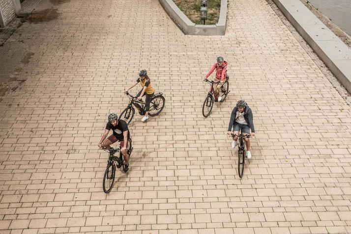 In Wiesbaden können Sie auch Trekking e-Bikes für eine geplante Tour mieten.