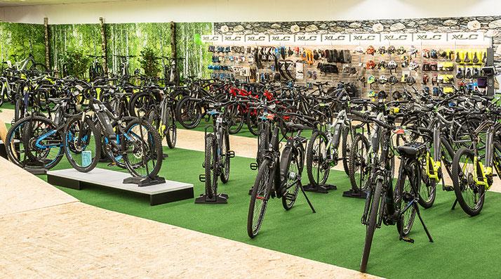 Die e-motion e-Bike Welt in Nürnberg
