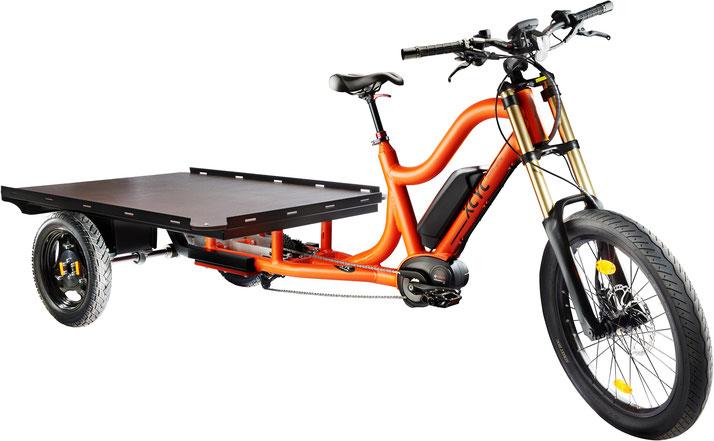 XCYC Pickup Work 2.0 Lasten e-Bike mit großer Ladefläche 2020