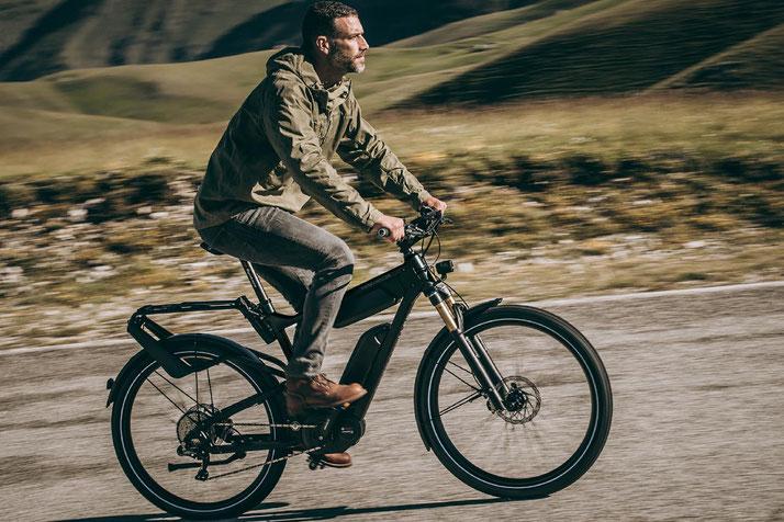 Riese & Müller e-Bikes mit ABS
