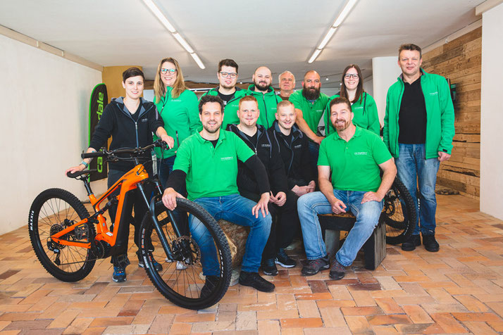 Das Team der e-motion e-Bike Welt in Worms