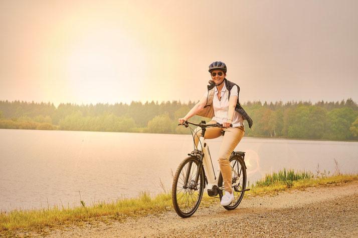 Raleigh e-Bikes und Pedelecs in der e-motion e-Bike Welt in Velbert