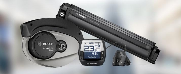 Das Bosch Power Tube Akku kann entweder im e-Bike oder separat im Ladegerät aufgeladen werden.