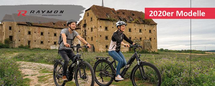 R Raymon e-Mountainbikes, Trekking e-Bikes 2019