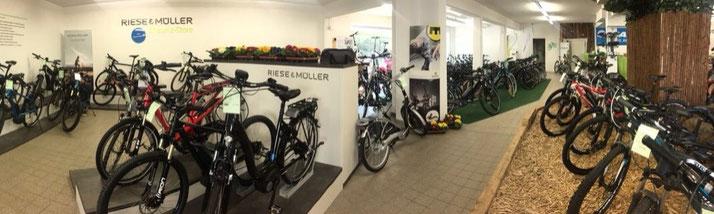 e-motion e-Bike Welt Stuttgart City und Trekking e-Bikes