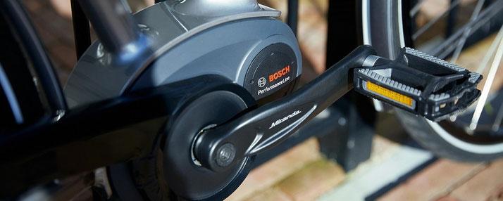 Der Bosch Performance Line e-Bike Antrieb ist vielfältig einsetzbar