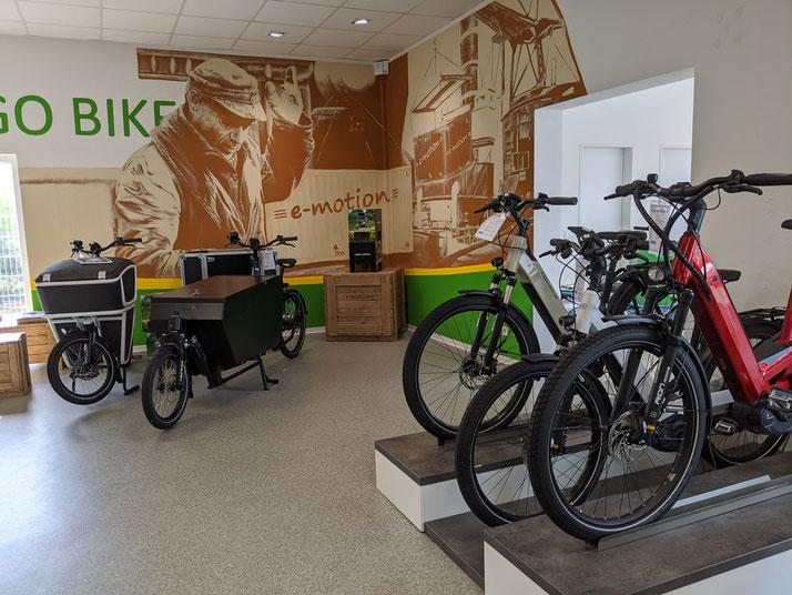 City e-Bikes probefahren und kaufen in der e-motion e-Bike Welt Bremen