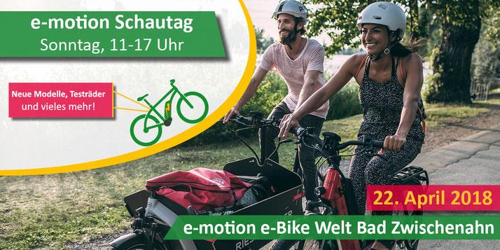 Schautag in der e-motion e-Bike Welt Bad-Zwischenahn