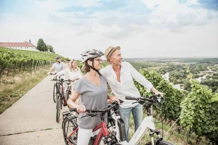 Winora e-Bikes und Pedelecs in der e-motion e-Bike Welt in Düsseldorf