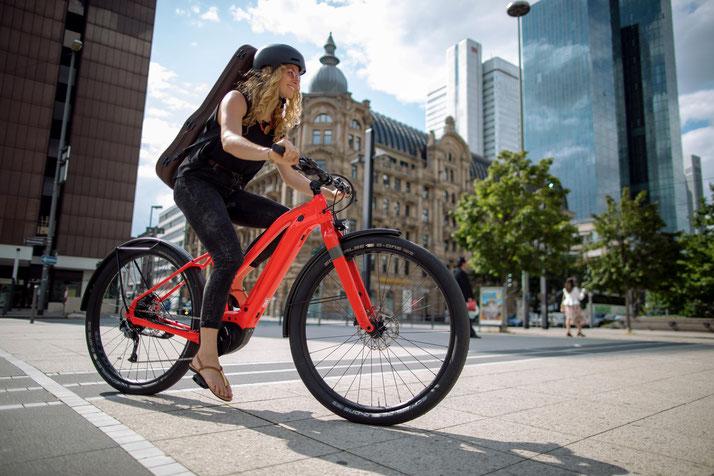 Cannondale Canvas Neo Urban und Trekking e-Bike 2020