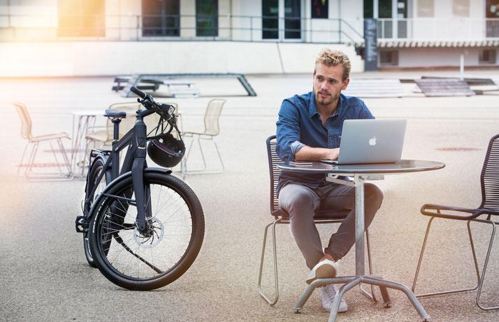 Finden Sie ihr eigenes City e-Bike im Shop in Köln