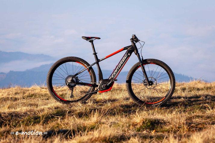 Wir haben das neue e-Mountainbike Corratec X Vert Pro 650B 2019 für Sie getestet