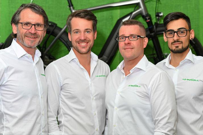 Termin vereinbaren in der e-motion e-Bike Welt Frankfurt