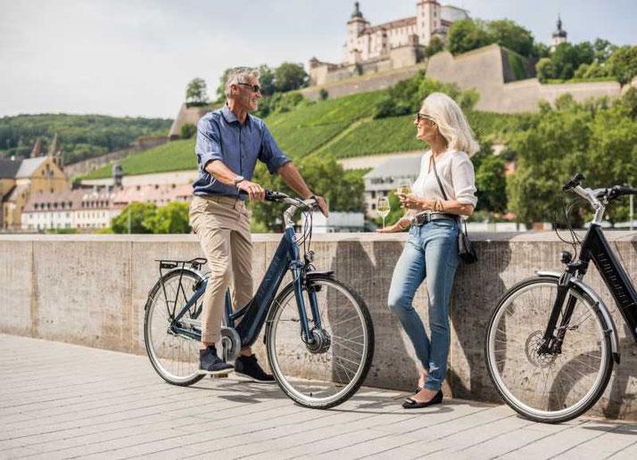 Finden Sie ihr eigenes City e-Bike im Shop in Frankfurt