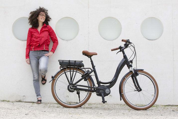 Finden Sie ihr eigenes City e-Bike im Shop in München West