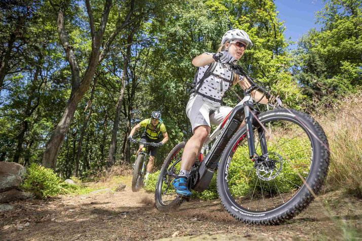 e-Mountainbikes verschiedener Marken in Worms vergleichen, kaufen oder Probefahren