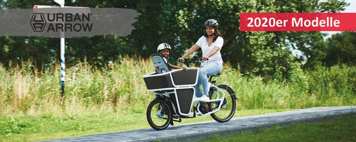 Lasten und Cargo e-Bikes von Urban Arrow - Beratung, Probefahrten und kaufen bei den e-motion e-Bike Experten in Ihrer Nähe