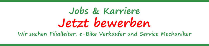 Jobs beim e-Bike Experten e-motion