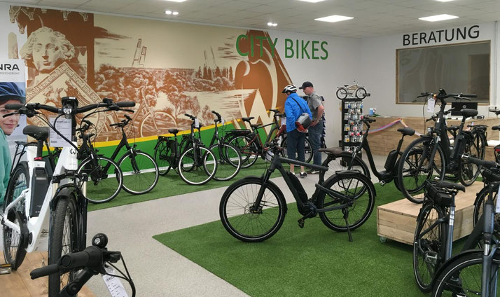 Die e-motion e-Bike Welt in Bremen