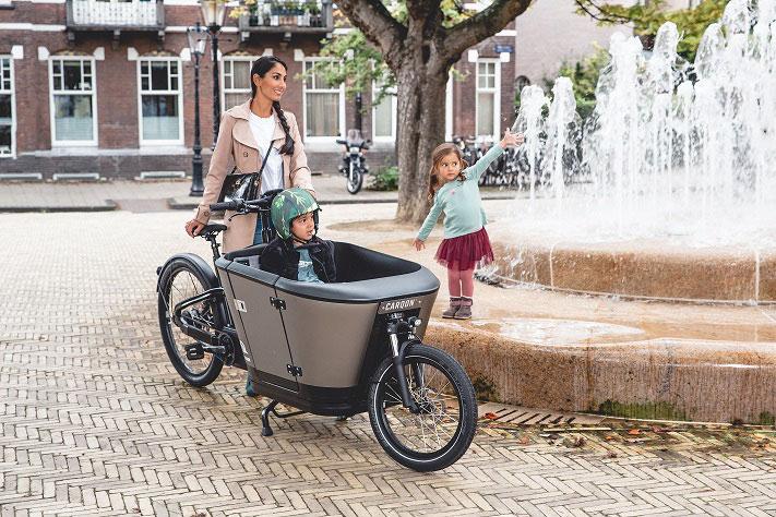 Lasten e-Bikes und alles drum herum finden Sie im Shop in Wiesbaden