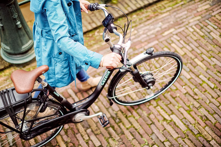 Gazelle e-Bikes und Pedelecs in der e-motion e-Bike Welt in Bonn