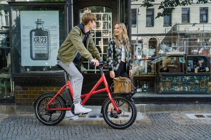 Lernen Sie die praktischen Eigenschaften von Falt- und Kompakt e-Bikes im Shop in Münster kennen
