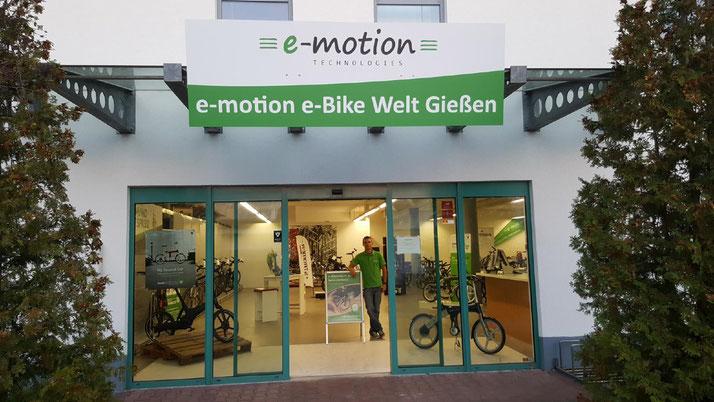 Urban Arrow e-Bikes und Pedelecs in der e-motion e-Bike Welt in Gießen
