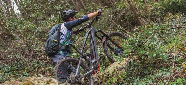 Kräftigere Schiebehilfe für den e-Mountainbike-Antrieb Performance CX