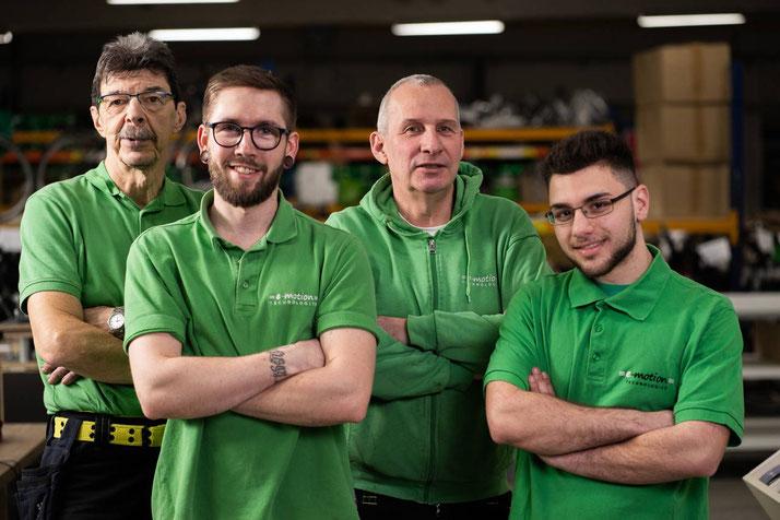 e-Bike Service und Reparatur von unseren Service Experten im e-motion e-Bike Premium Shop Velbert
