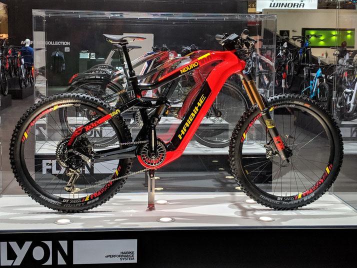 Haibike Flyon 2019: e-Mountainbikes mit neuem e-Bike Motor