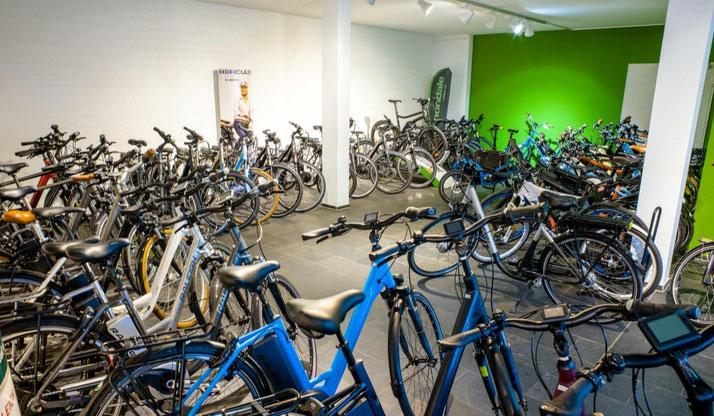 Der e-motion e-Bike Premium Shop in Hamburg