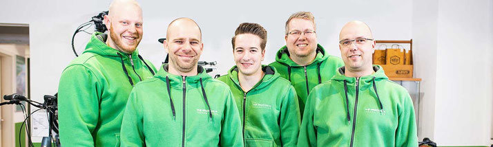 Pedelecs mit 25 km/h oder 45 km/h Unterstützung kaufen und Probefahren in Köln